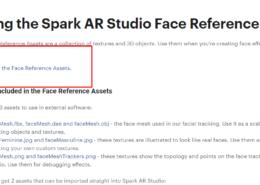Файлы 3d головы Spark AR