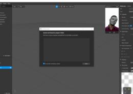 Когда создала face tracker,face mesh и уже загружаю текстуру , спарк ар ее не видит.