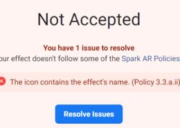 Ошибка Policy 3.3.a.ii