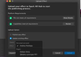 Как загружать эффект прямиком из Spark AR
