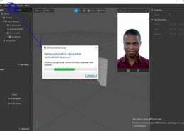 Вылетает Spark AR при добавлении Face Tracker