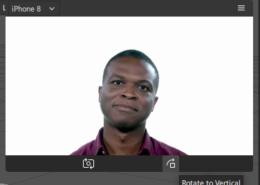 поворот изображения с камеры