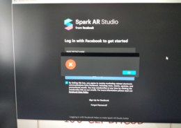 Не получается зайти в Spark AR