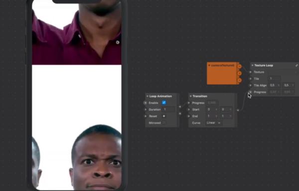 Texture UV Loop, Zoom & Tile / Shader