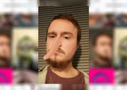 повторить фильтр Floppy nose