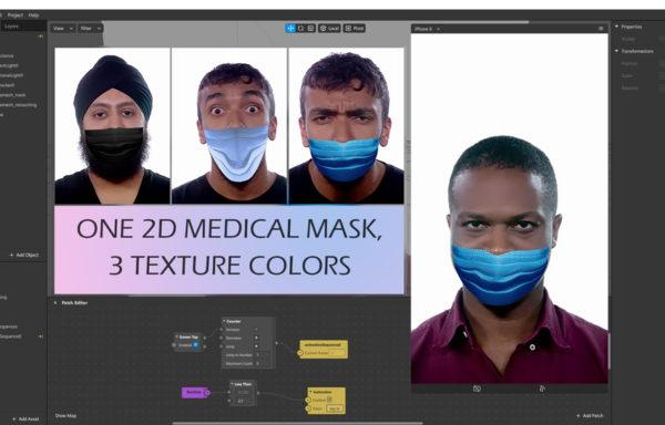 2D Медицинские маски