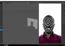Применение текстуры к маске