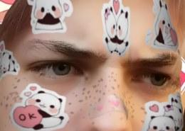 Face mesh выходит за границы рамки при приближении